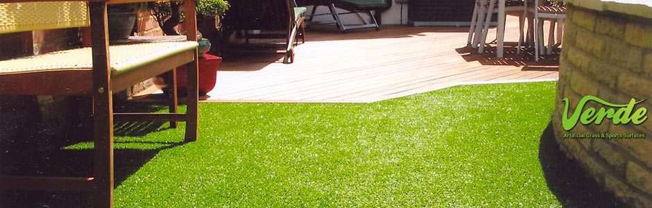 A garden lawn by Hawley Landscapes